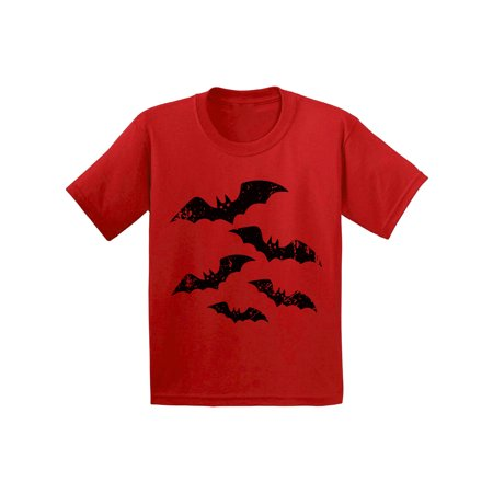 Awkward Styles Halloween Bats Tshirt for Kids Halloween Shirt Scary Bats T Shirt Dia de los Muertos Shirts for Kids Day of the Dead Gifts Halloween Holiday Outfit Funny Trick - Top Halloween Treats
