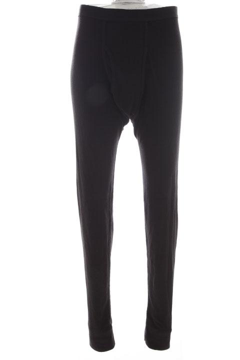 ALFANI NEW Black 6934 Waffle Knit Thermal Pants Mens Underwear 2X