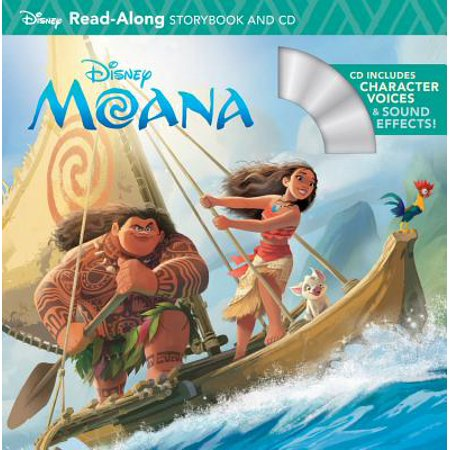 Moana Read-Along Storybook & CD - Halloween Read Along Stories