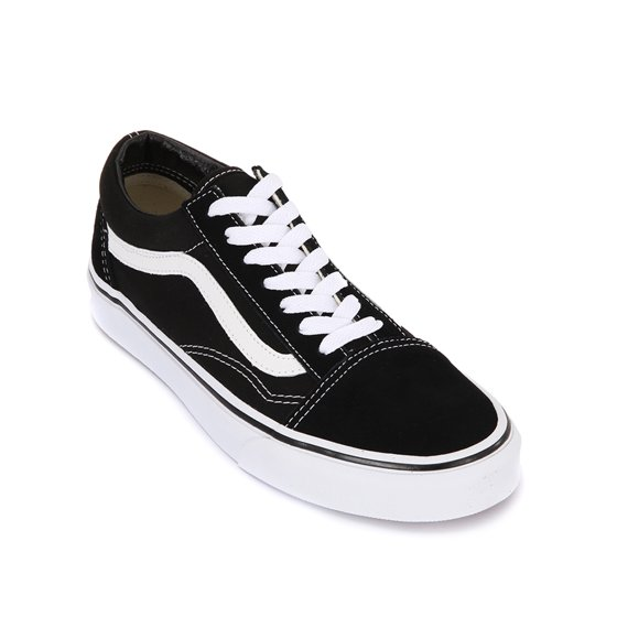 5d6df7a712f73e Mens Vans Old Skool Canvas Black White VN000D3HY28 Model  VN000D3HY28 100%  Authentic New in Box Release Date  2017 Dead Stock Original Grab your pair  today!