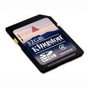 32GB Secure Digital High Capacity (SDHC) Card - Class 4