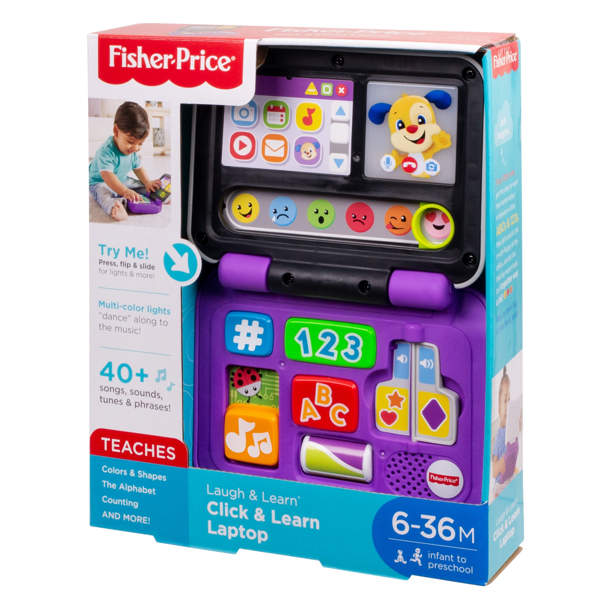 Fisher-Price Laugh /& Learn Click /& Learn Laptop