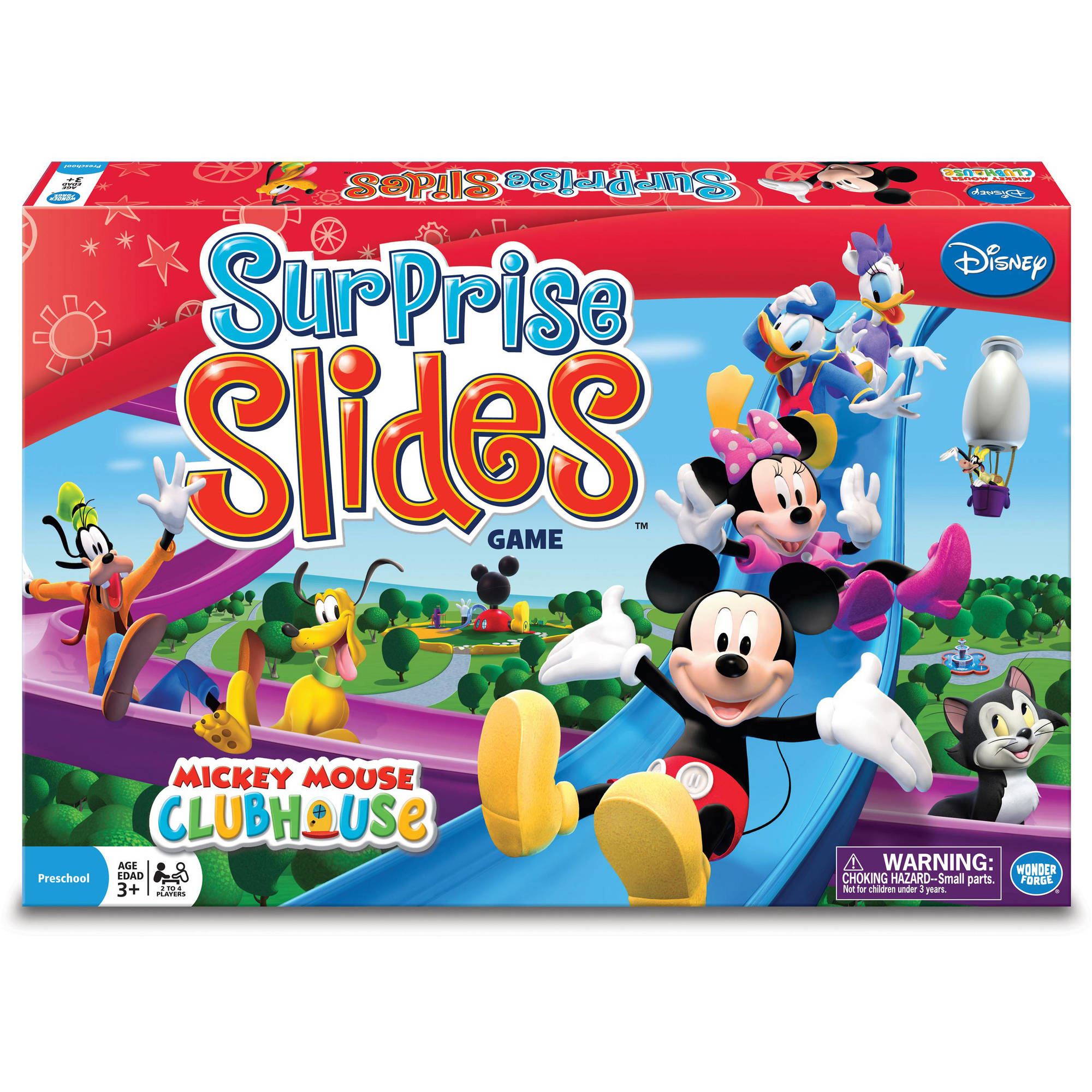 Disney Mickey Mouse Clubhouse Surprise Slides Game