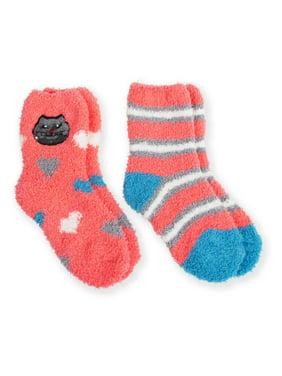 Faded Glory Girls Socks 2 Pack