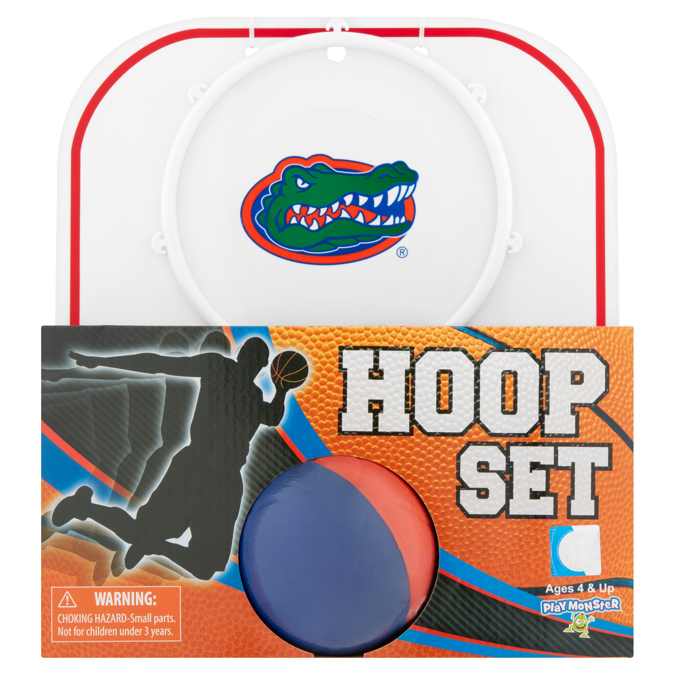 Officially Licensed NCAA Florida Gators Hoop Set