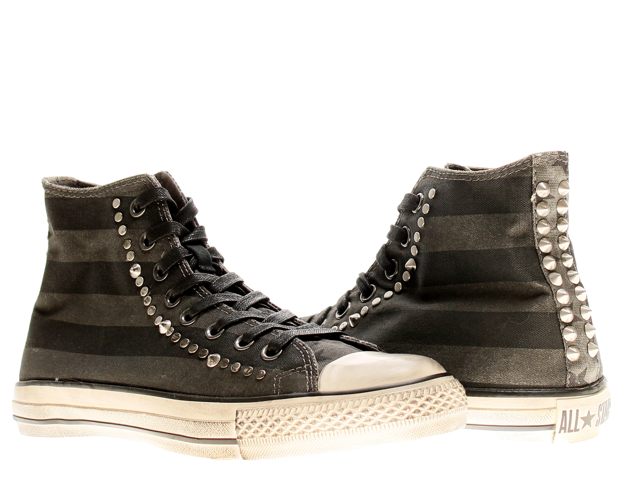 e3d41ca3ae0162 ... amazon converse chuck taylor all star x john varvatos black studded  high top sneakers e35d0 1726c