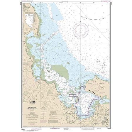 Pacific Coast Noaa Nautical Charts - NOAA Chart 19359 O'ahu East Coast Käne'ohe Bay: 44.91
