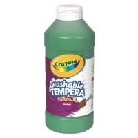 Crayola Artista Ii Non-Toxic Washable Tempera Paint, Green