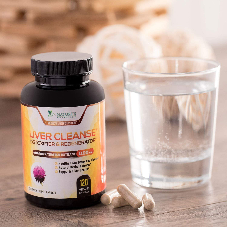Natures Nutrition Liver Cleanse, Detox