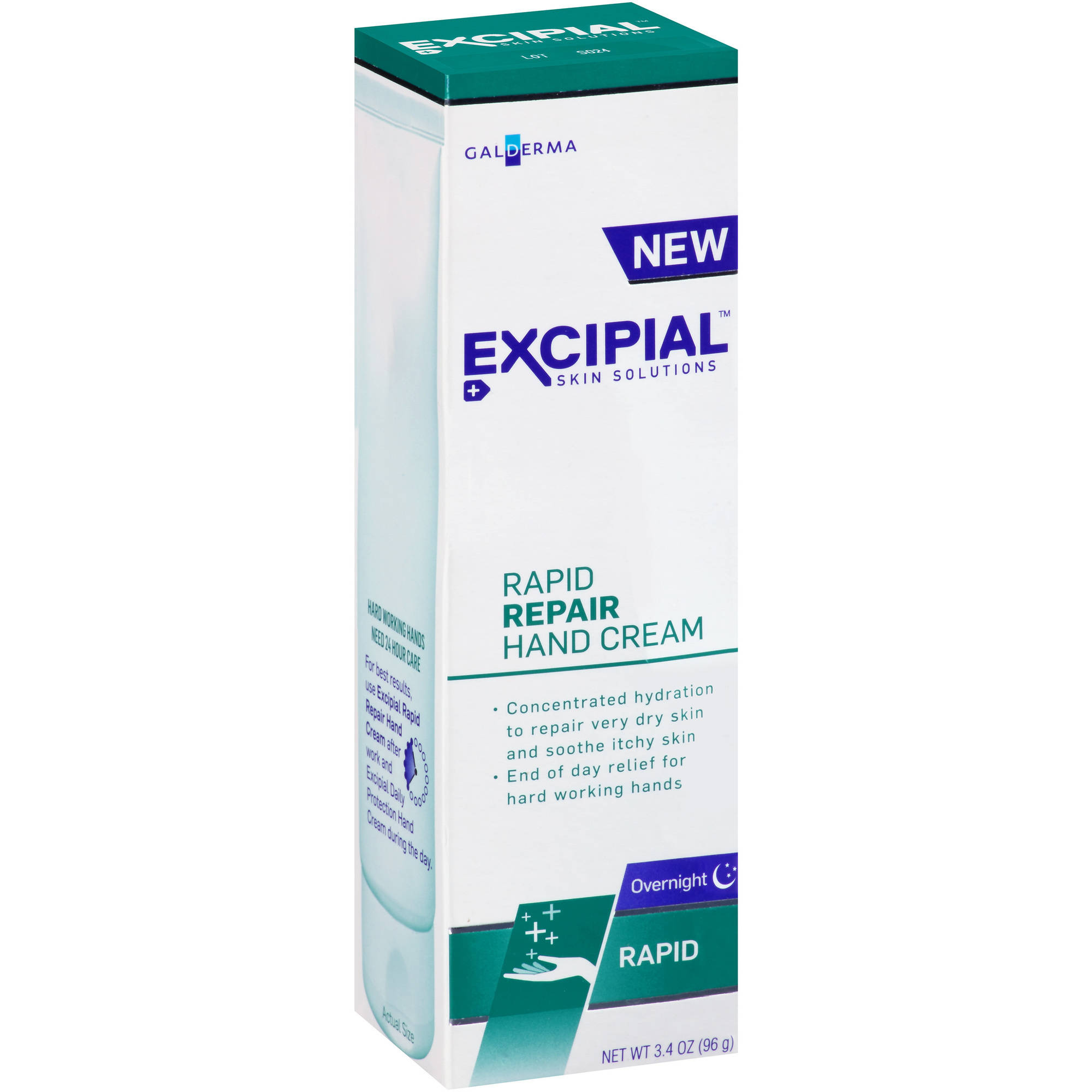 Excipial Rapid Repair Hand Cream, 3.4 oz