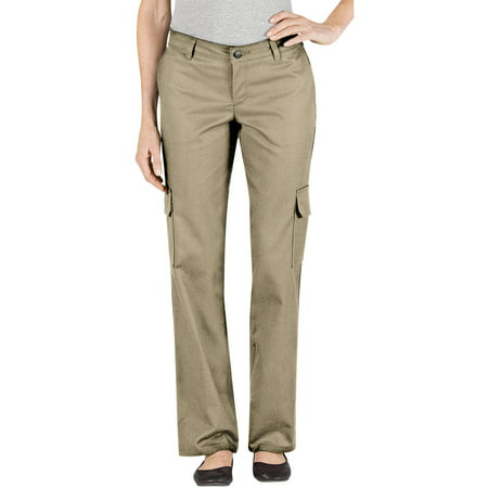 Women's Relaxed Fit Straight Leg Cargo Pant Bi Stretch Welt Pocket Pants