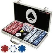 Trademark Poker Maverick 300 Dice Style 11.5g Poker Chip Set by TRADEMARK GAMES INC