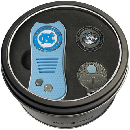 new arrival 9f825 181da Team Golf NCAA Tin Gift Set with Switchfix Divot Tool, Cap Clip and Ball  Marker - Walmart.com