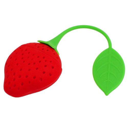 Vandue Corporation Strawberry Silicone Loose Tea Infuser