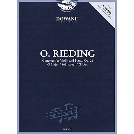 Rieding: Concerto for Violin and Piano, Op. 24, G Major/Sol Majeur/G-Dur [With CD (Audio)] (Easy Halloween Songs For Violin)
