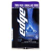 Edge Extra Moisturizing Men's Shave Gel Twin Pack, 14 Oz