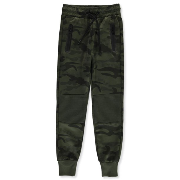 Rebel Boys' Dotted Camo Joggers