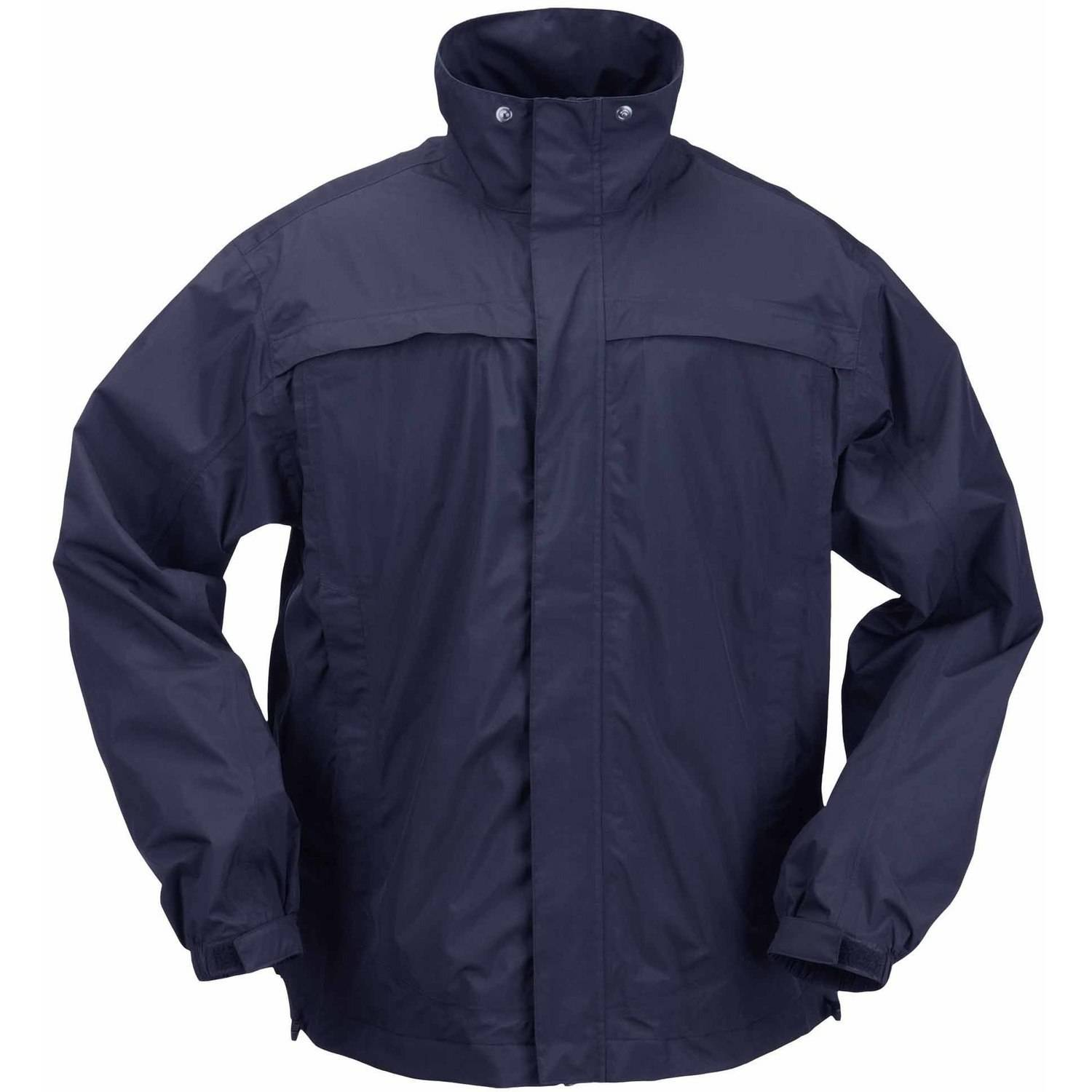 5.11 Tactical Tac Dry Rain Shell Jacket, Dark Navy by 5.11 Tactical