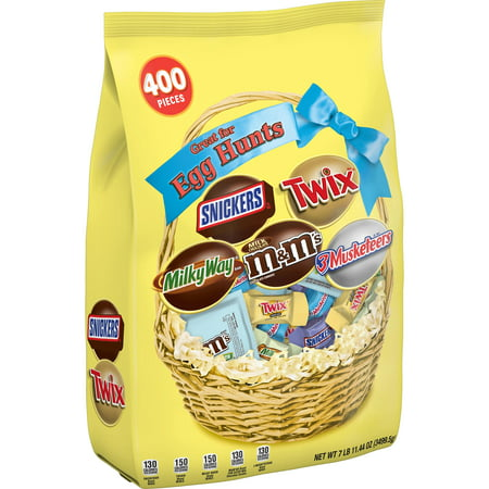 Mars Chocolate Easter Candy Spring Variety Mix, 400 Ct, 123.4 Oz