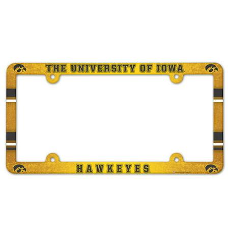 - American Logo Products Iowa Hawkeyes License Plate Frame