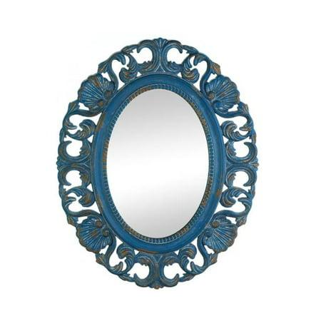 Vintage Belle Blue Mirror - image 1 of 1