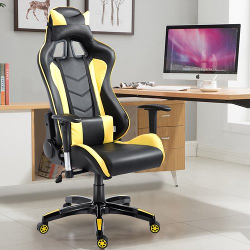 Symple Stuff Lagasse High Back Executive Racing Reclining Swivel Leather Gaming Chair