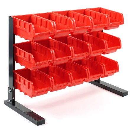 Bench Top Parts Rack - 15 pieces by Stalwart