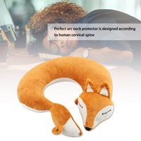YLSHRF Neck Pillow,Fox Shape Travel Neck Pillow Soft Air U Shape Health Pillow , U Shape Pillow