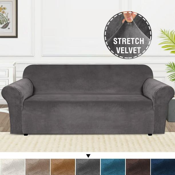 Velvet Couch Cover Sofa Slipcover