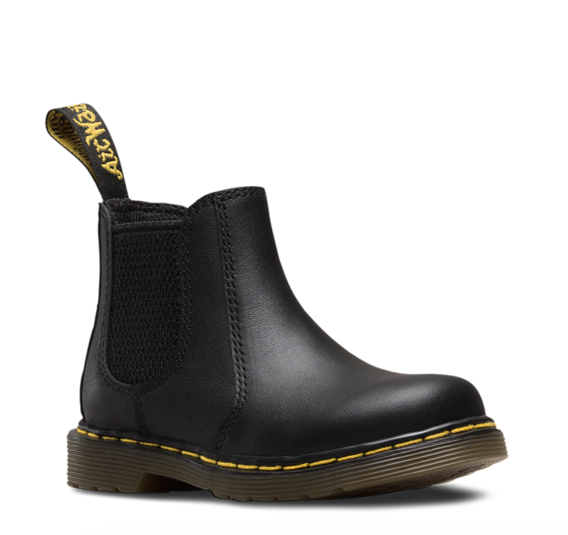 Dr. Martens Kid's Chelsea Casual Boots Black Leather 8 Toddler M UK 9 M by Dr. MARTENS