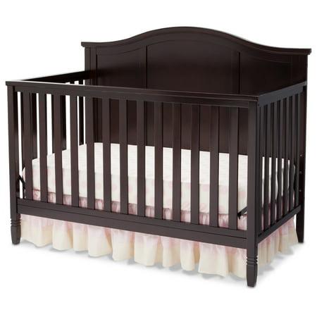 - Delta Children Madrid 4-in-1 Convertible Crib, Dark Chocolate