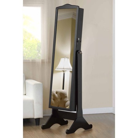 Full Length Mirror With Jewelry Storage Walmart Com