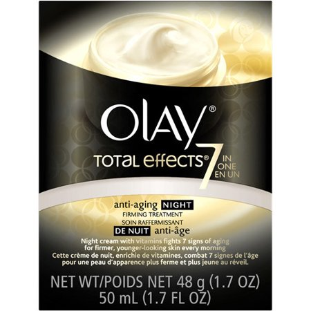 Olay Total Effects Night Firming Facial Moisturizer Treatment 1.7 fl.