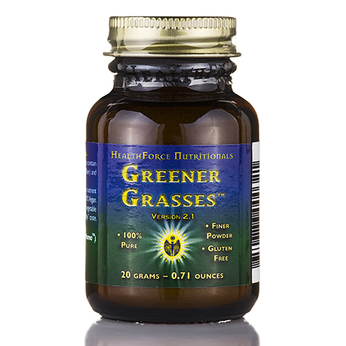 Greener Grasses��� Powder - 0.71 oz (20 Grams) by HealthForce Nutritionals
