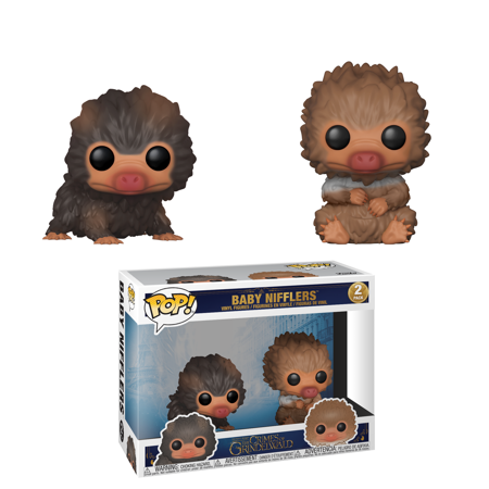 Funko POP! Movies: Fantastic Beasts 2 - 2PK - Baby Nifflers