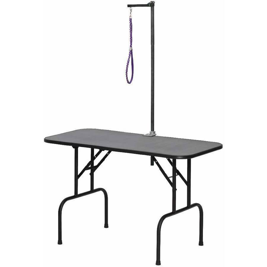 Midwest Plywood Grooming Table with G3ZA48 Arm