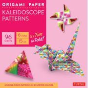 """Origami Paper - Kaleidoscope Patterns - 6"""" - 96 Sheets: Tuttle Origami Paper: High-Quality Origami Sheets Printed with 8 Different Patterns: Instructions for 7 Projects Included (Other)"""