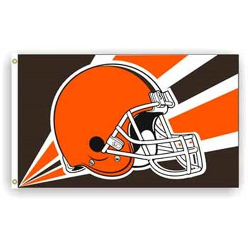 DDI 245612 Cleveland Browns - 3 ft.  X 5 ft.  Flags Case Of 1