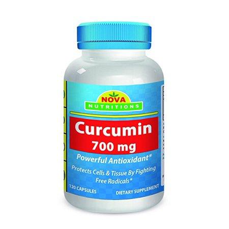 Nova Nutritions Curcumin Turmeric Extract 700 Mg 120 Capsules