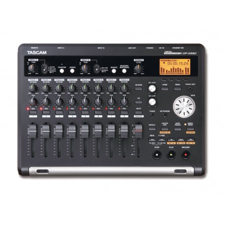 Tascam DP-03 8-Track Digital Portastudio (Tascam Dp 008 8 Track Digital Portastudio)