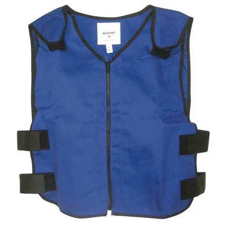 New Original Allegro - ALLEGRO Cooling Vest,XL,Blue,22 In. L 8413-04