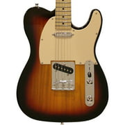 Sawtooth ET Series Electric Guitar, Sunburst with Aged White Pickguard
