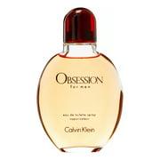 ($82 Value) Calvin Klein Obsession Eau De Toilette Spray, Cologne for Men, 4 Oz