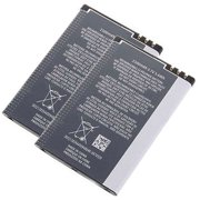 Replacement Battery for Nokia BP-4L (2 Pack)