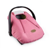 Cozy Cover Infant Carrier Cover, Secure Baby Car Seat Cover, Pink