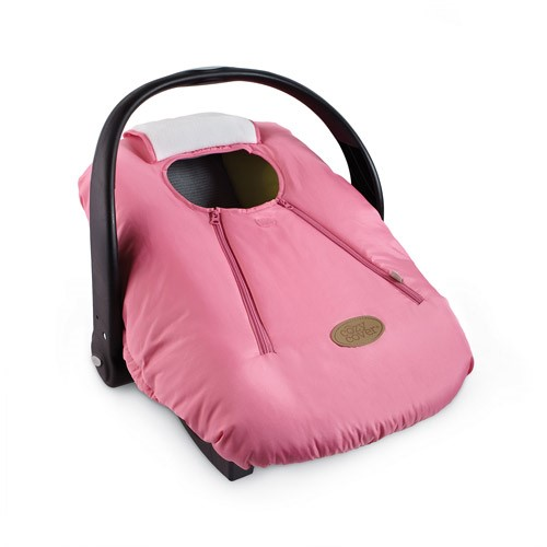 Cozy Cover Infant Carrier Cover, Pink