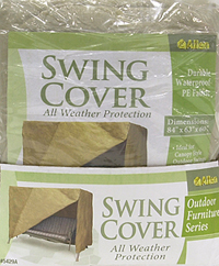 Outdoor Patio Swing Cover Image 3 Of 4