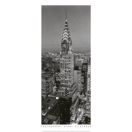 - Chrysler Building Art Print  By Henri Silberman