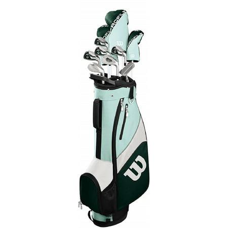 Golf Profile SGI Women's Complete Left Hand Golf Set w/ Bag - Teal