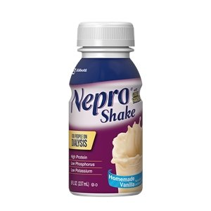 Oral Supplement Nepro With Carb Steady Homemade Vanilla 8 Oz  Bottle Ready To Use   Case Of 16